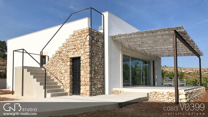 Casa v0399 ristrutturazione e restyling di una villetta - Ristrutturazione casa anni 70 ...