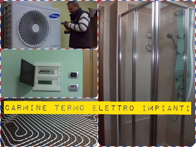 Elettricista idraulico condizionamento caldaie massima for Certificazione impianti