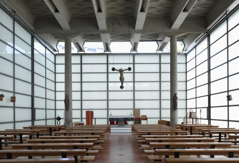 Ultimato il restauro della chiesa di vetro di baranzate - Casalgrande padana listino prezzi ...